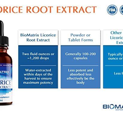 Liqorice root extract - biomatrix