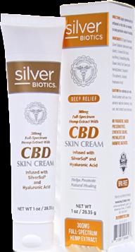 Silver biotics CBD skin cream
