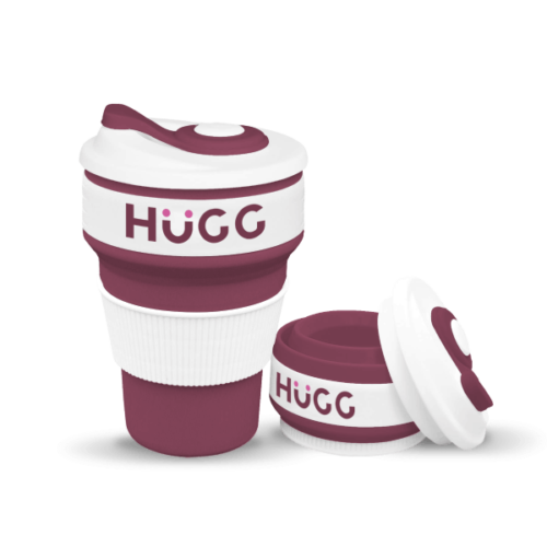 HuGG Collapsible Coffee Cup