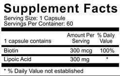 lipoic acid facts